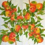 Салфетка Яблоки на ветке