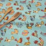 Ткань для печворка и рукоделия Птички