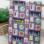 Ткань для печворка и рукоделия  Новогодняя мелочь