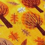 Ткань для печворка и рукоделия Осенние деревья