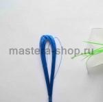 Проволока для цветов из капрона: 0,45мм (№26) Синий
