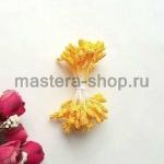 Тычинки зернистые желтые темные (4 мм)