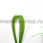 Проволока для цветов из капрона: 0,55 мм (№24). Зеленый светлый
