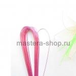 Проволока для цветов из капрона: 0,7 мм (№22). Розовый