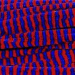 Проволока шенил (синель) Синий-красный