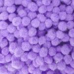 Помпоны 8-10 мм. Фиолетовый светлый. 5 шт.