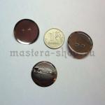 Основа для броши круглая 24 мм