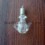 Бутылочка стеклянная Кувшин