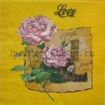 Салфетка Розы-Love