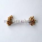 Тычинки средние золотые (2-3 мм)