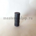 Магнит круглый ферритовый. 18*3 мм