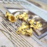 Подвеска Золотые колокольчики