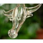 Бутылочка стеклянная Бык