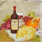 Салфетка Вино и сыр