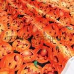 Ткань для печворка и рукоделия: Тыквы Хэллоуин