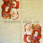 Салфетка Санта с мешком