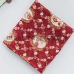 Ткань из коллекции Камеи с розами: Камеи бордо