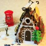 Поделки из фетра: Копилка Шоколадный домик