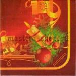 Салфетка Свеча с декором