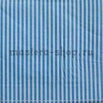 Салфетка Полоска тонкая синяя