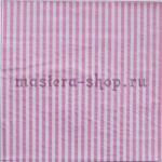 Салфетка Полоска тонкая розовая