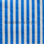 Салфетка Полоска широкая синяя