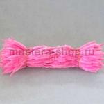 Неравномерная проволока шенил (синель) Розовая