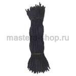 Неравномерная проволока шенил (синель) Черная