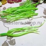 Тычинки и пестик лилии. 12 см. Зелено-белые