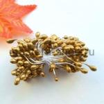 Тычинки большие Золотые (4-5 мм)