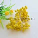 Тычинки большие сахарные Желтые  (5 мм)
