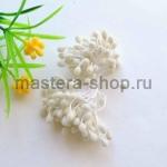 Тычинки большие сахарные Белые (5 мм)