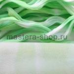 Капрон для цветов Светло-зеленый+Белый