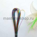 Проволока для цветов из капрона: 0,9мм (№20). Мультиколор