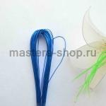 Проволока для цветов из капрона: 0,9мм (№20). Синий