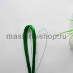 Проволока для цветов из капрона: 0,45мм (№26) Зеленый