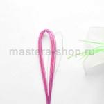 Проволока для цветов из капрона: 0,45мм (№26) Розовый