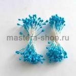 Тычинки средние голубые (2-3 мм)