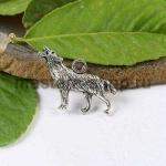 Серебряная подвеска Волк