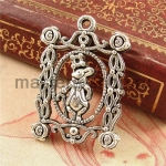 Серебряная подвеска Кролик (Алиса в стране чудес)