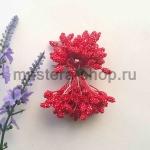 Тычинки зернистые красные (4 мм)