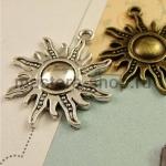 Серебряная подвеска Солнце