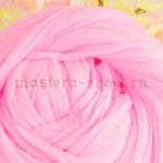 Капрон для цветов Розовобелый