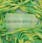 Капрон для цветов Светло-зеленый+Бледно-желтый